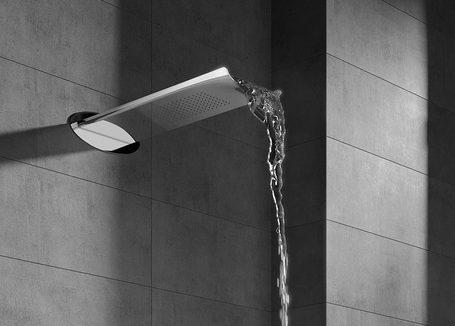 Collezione aria webert - Soffione della doccia ...